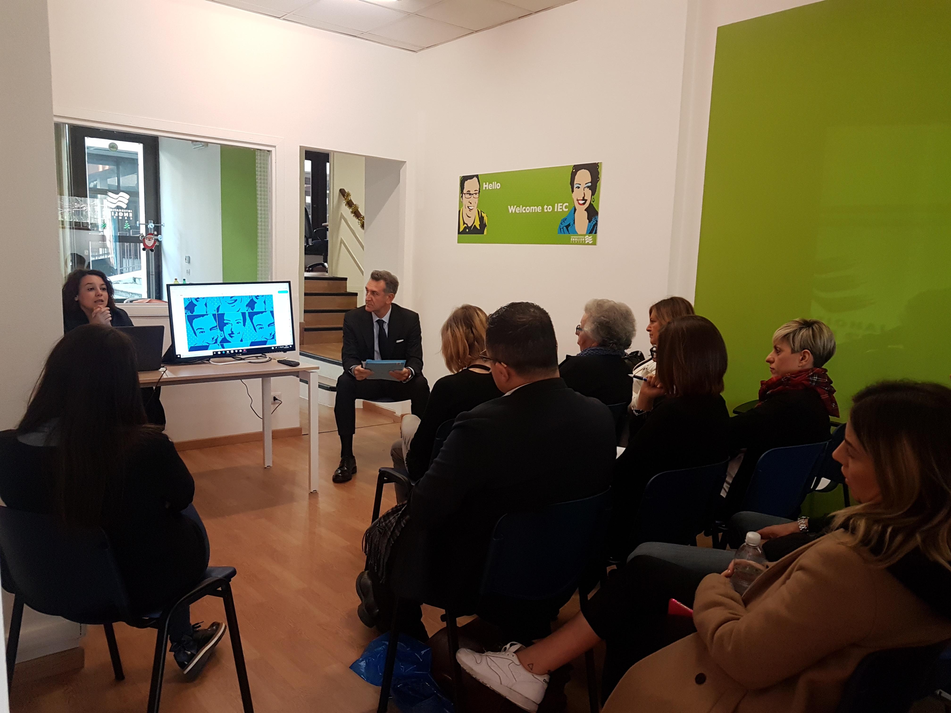 Meeting nazionale IEC dicembre 2018