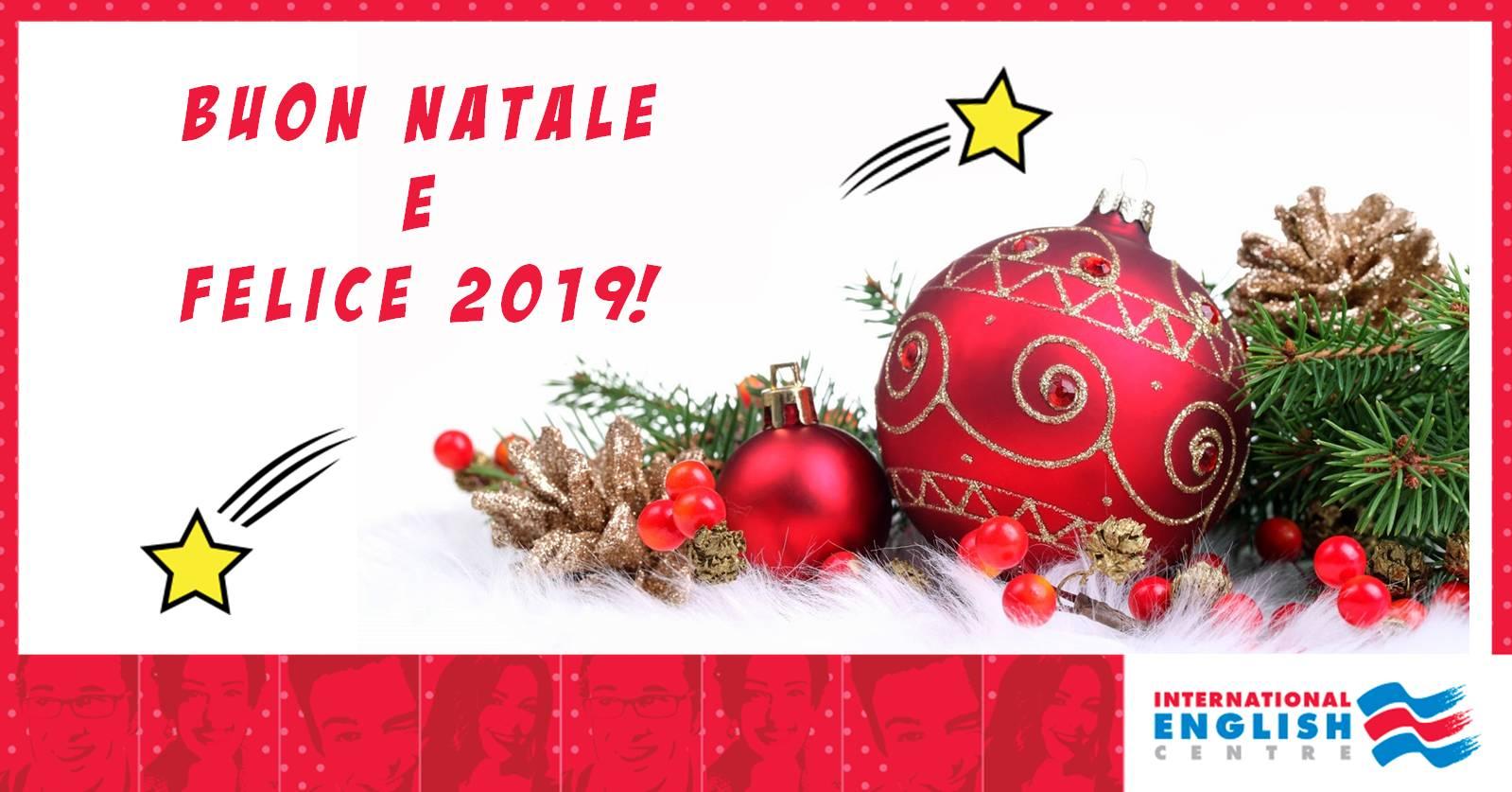 Buon Natale Da International English Centre Franchising